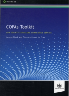 COFAs Toolkit : The Law Society's Risk and Compliance Section, Paperback / softback Book