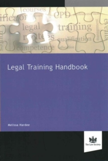 Legal Training Handbook, Paperback Book