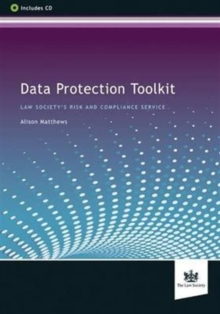 Data Protection Toolkit, Mixed media product Book