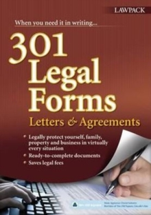 301 Legal Forms, Letters & Agreements, Paperback Book