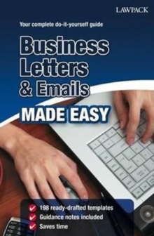 Business Letters & Emails Made Easy, Paperback Book