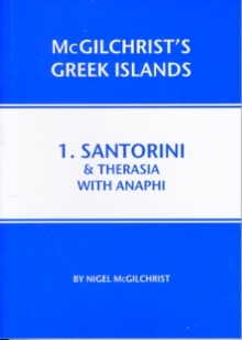 Santorini & Therasia with Anaphi : 1, Paperback Book