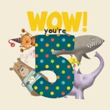 WOW! You're Five birthday book, Paperback / softback Book