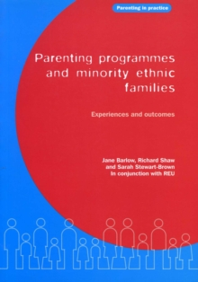 Parenting Programmes and Minority Ethnic Families : Experiences and outcomes, PDF eBook
