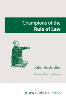 Champions of the Rule of Law, PDF eBook