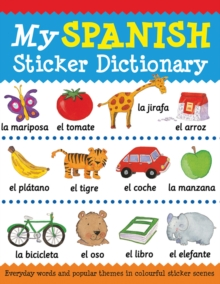 My Spanish Sticker Dictionary, Paperback Book