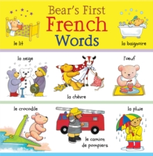 Bear's First French Words, Hardback Book