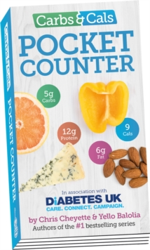 Carbs & Cals Pocket Counter, Paperback Book