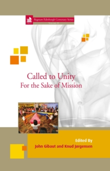 Called to Unity : For the Sake of Mission 25, PDF eBook