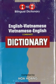 English-Vietnamese & Vietnamese-English One-to-one Dictionary, Hardback Book
