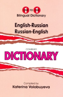 English-Russian & Russian-English One-to-One Dictionary, Paperback Book