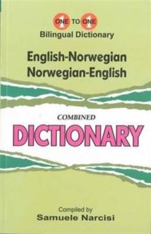 English-Norwegian & Norwegian-English One-to-One Dictionary : (Exam-Suitable), Paperback / softback Book