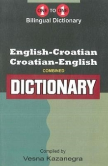 English-Croatian & Croatian-English One-to-One Dictionary, Paperback Book