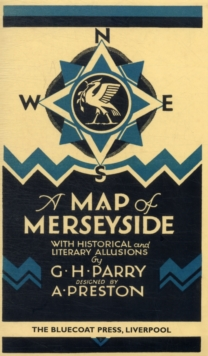 Map of Merseyside, Sheet map, folded Book