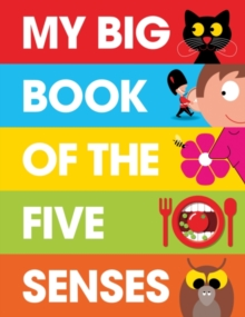 My Big Book of the Five Senses, Hardback Book
