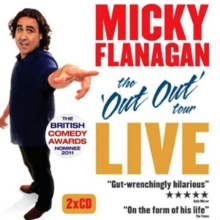 Micky Flanagan Live : The Out Out Tour, CD-Audio Book