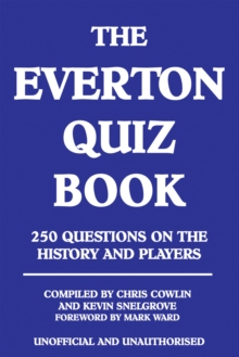 The Everton Quiz Book, EPUB eBook
