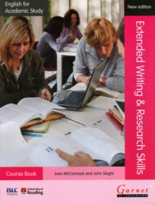 English for Academic Study: Extended Writing & Research Skills Course Book - Edition 2, Paperback Book