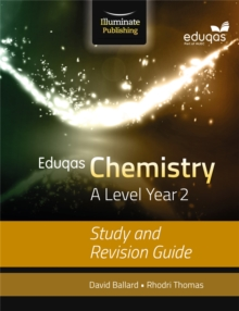 Eduqas Chemistry for A Level Year 2: Study and Revision Guide, Paperback Book