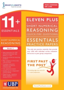 11+ Essentials Short Numerical Reasoning for CEM : Book 2, Paperback Book