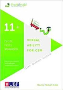 Verbal Ability for Cem 11+: Cloze Workbook, Paperback Book