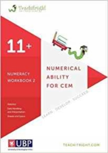 Numerical Ability for Cem 11+: Numeracy Workbook 2 (Teachitright), Paperback Book
