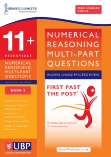 11+ Numerical Reasoning for CEM: Multipart Multiple Choice : Book 2, Paperback Book
