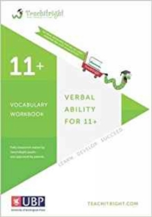 Verbal Ability for 11 +: Vocabulary Tests Workbook (Teachitright), Paperback Book