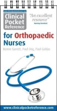 Clinical Pocket Reference for Orthopaedic Nurses, Paperback Book