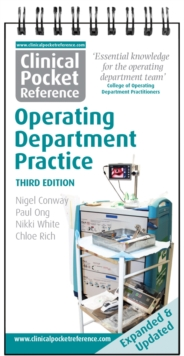 Clinical Pocket Reference Operating Department Practice, Spiral bound Book