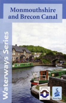 Monmouthshire and Brecon Canal Map, Sheet map, folded Book
