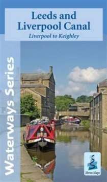 Leeds and Liverpool Canal - Liverpool to Keighley, Sheet map, folded Book
