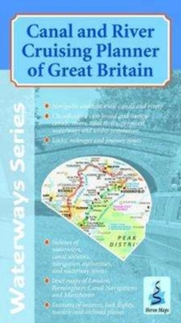 Canal and River Cruising Planner of Great Britain, Sheet map, folded Book