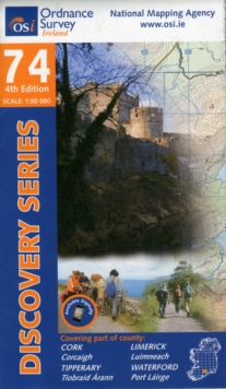 Cork, Limerick, Tipperary, Waterford, Sheet map, folded Book