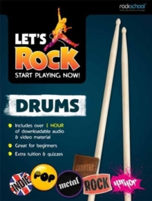 Rockschool Let's Rock Drums, Paperback / softback Book
