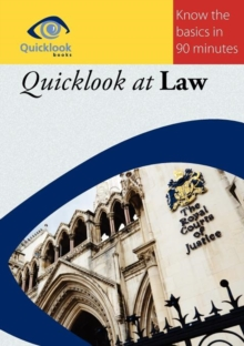 Quicklook at Law, Paperback Book