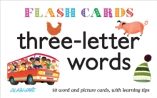 Flash Cards: Three-letter words, Paperback Book