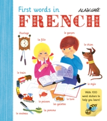 First Words in French, Paperback / softback Book