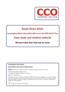 South Africa 2010: Leveraging Nation Brand Benefits from the FIFA World Cup, PDF eBook