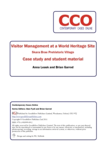 Visitor Management at a World Heritage Site: Skara Brae Prehistoric Village, PDF eBook