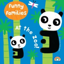 Funny Families - At the Zoo, Hardback Book