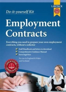 Employment Contracts Kit, Kit Book