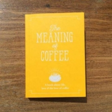 The Meaning of Coffee, Book Book
