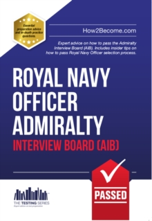 Royal Navy Officer Admiralty Interview Board Workbook, EPUB eBook