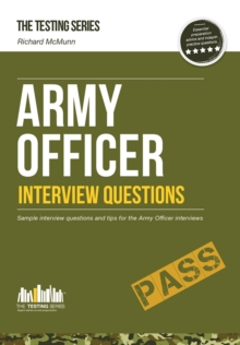 Army Officer Interview Questions: How to Pass the Army Officer Selection Board Interviews, Paperback Book