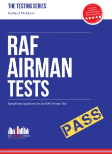 RAF Airman Tests : Sample Test Questions for the RAF Airman Test, Paperback Book
