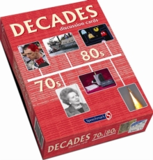 Decades Discussion Cards 70s/80s, Cards Book