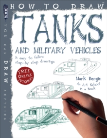 How to Draw Tanks, Paperback Book
