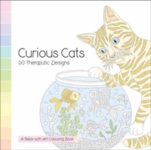 Curious Cars - 50 Theraputic Designs : A Relax With Art Colouring Book, Paperback Book