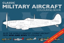 Classic Military Aircraft Colouring Book, Paperback Book